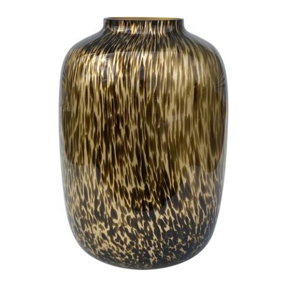 gouden panter vaas cheetah