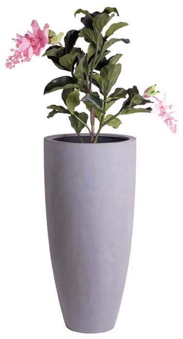 grote grijze vaas