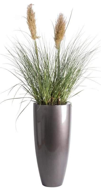 kenny bloemot grijs hoogglans