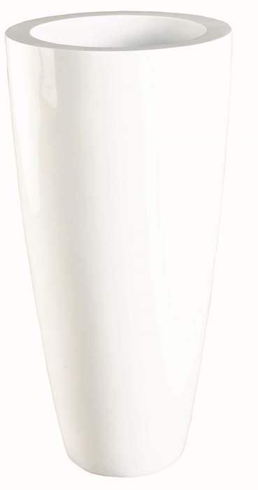 grote witte vaas