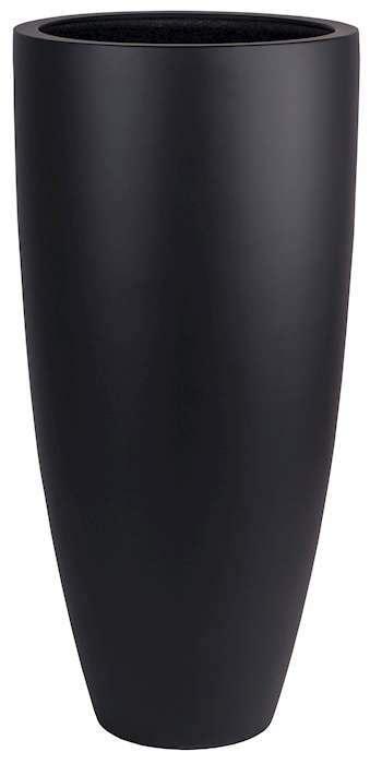 grote hoge zwarte vaas bloempot