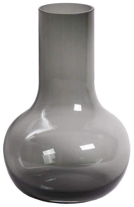 grijze hoge vaas