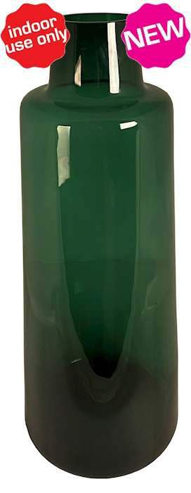 smalle groene vaas