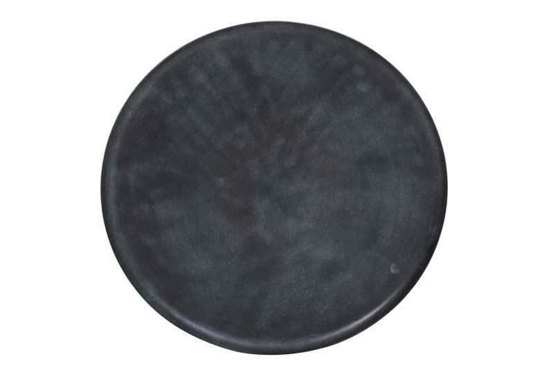 Zwart blauwe schaal