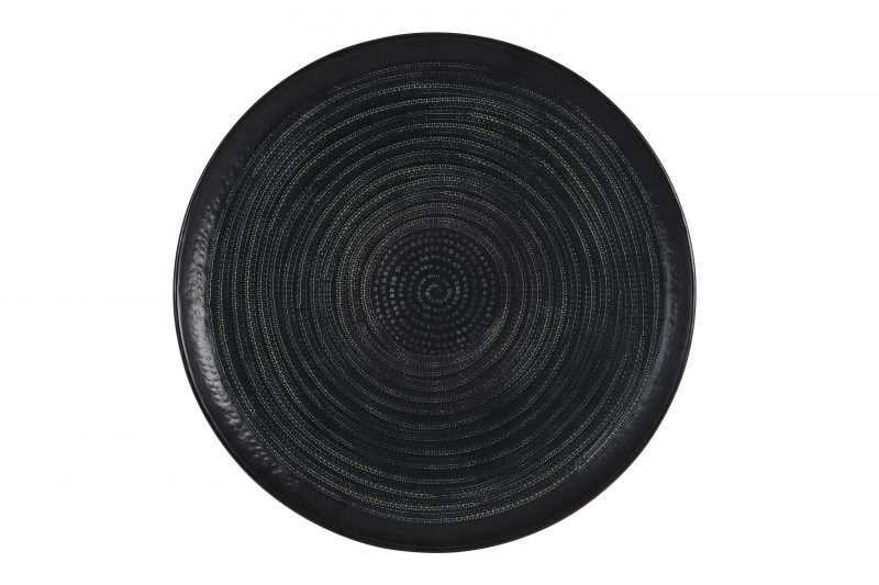 Grote zwarte schaal