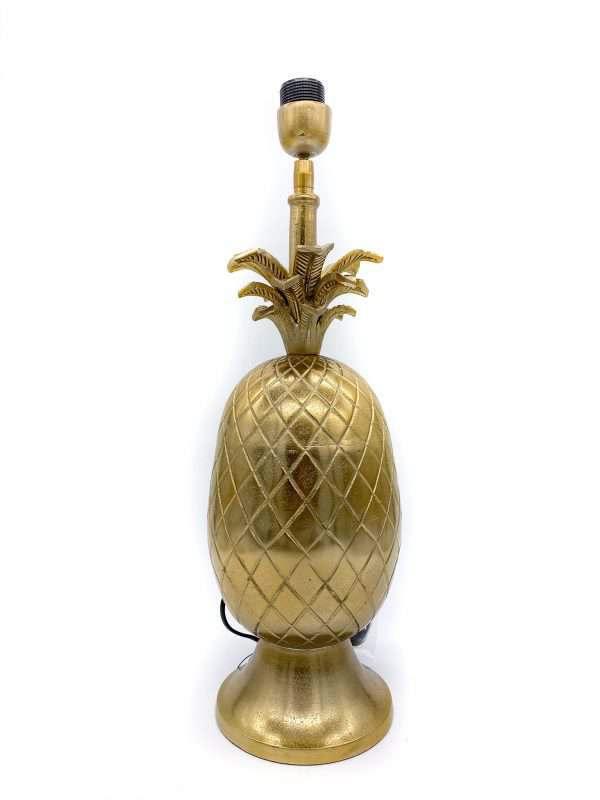 gouden ananas lampenvoet