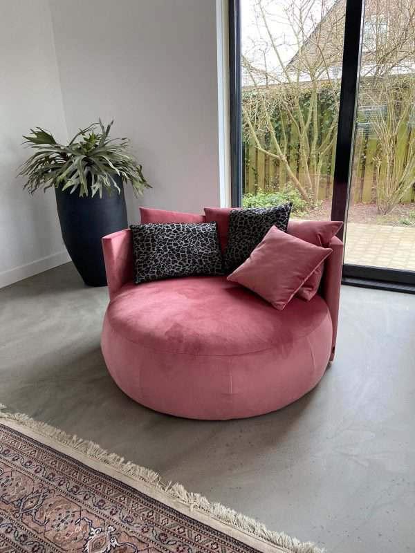 Grote ronde loungestoel