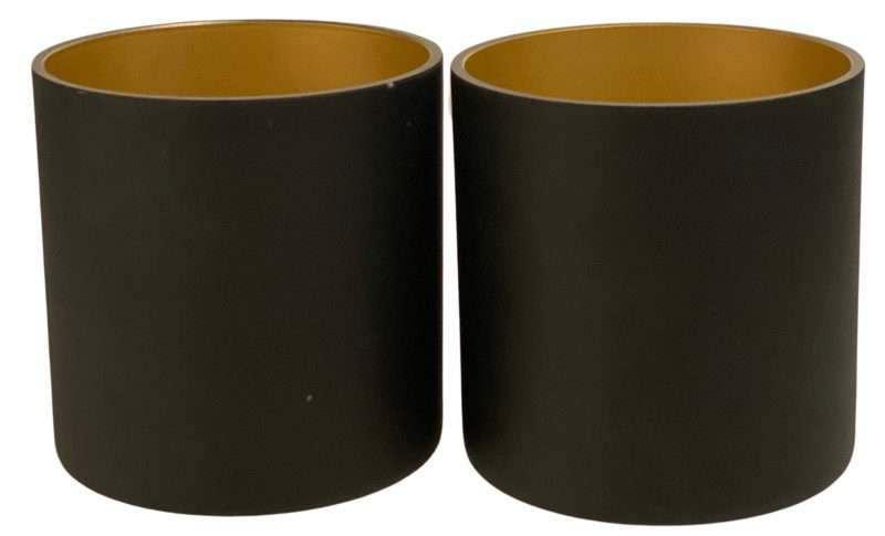cilinder glas zwart