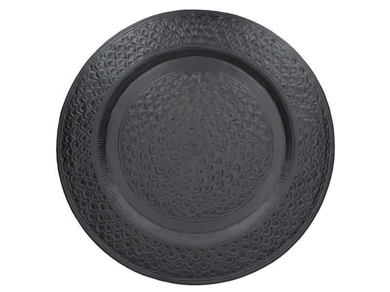 zwarte schaal