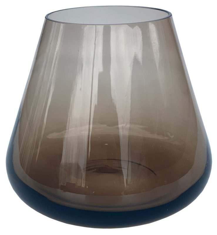 Waxine glas bruin