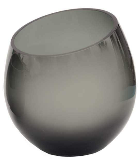 glazen waxinelicht houder