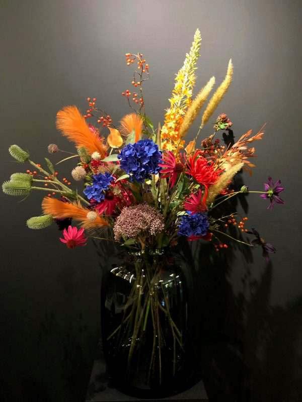 groot kunstbloemen boeket