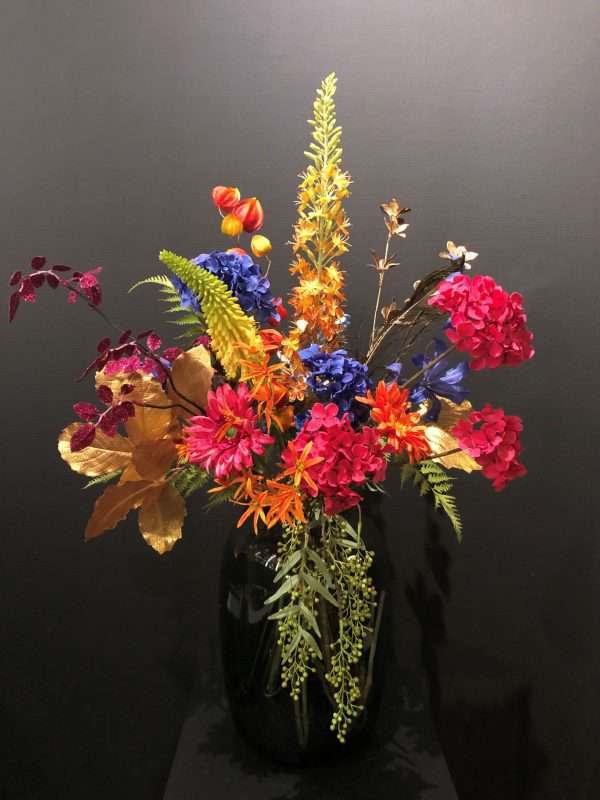 kunst veldbloemen boeket